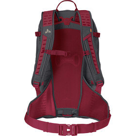 VAUDE Bike Alpin 30+5 Backpack indian red/salsa